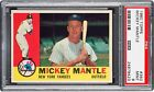 1960 Topps MICKEY MANTLE Rookie New York Yankees PSA 9