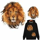 Cool Lion Patch T shirt Heat Transfer Sticker DIY Iron On Applique Decorations