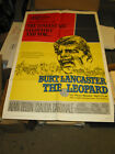 THE LEOPARD ORIG US ONE SHEET MOVIE POSTER BURT LANCASTER LUCHINO VISCONTI