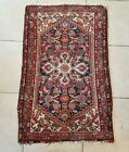 Vintage Hand Knotted Wool Persian Rug Made Iran 48