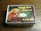 HAWKEYE marbles  from the Master Dave McCullough in a signed box