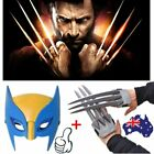 Wolf Wolverine Claws Plastic Toys&Wolverine Mask Cosplay Props Halloween Gift YH