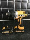 JCB CD20-Li 20v COMBI DRILL WITH 2 x 1.5 AH BATTERIES, CHARGER AND CASE
