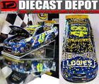 JIMMIE JOHNSON 2016 HOMESTEAD WIN RACED VERSION LOWES 1 24 SCALE ACTION