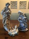 Lladro Nativity Holy Family Saint Joseph 1386 Virgin Mary 1387 & Baby Jesus 1388
