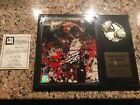 shaquille o'neal autograph plaque picture