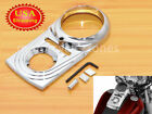 Chrome Dash Panel Insert Cover For Harley Dyna Softail Fat Boy Night Train USA