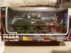 New Ray 132 Scale Die Cast Battery Operated M4A3 Tank