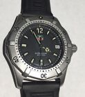 Tag Heuer Professional 200m WK11100 Stainless Professional Rubber Band Watch