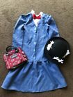 Disney Mary Poppins Fancy Dress Outfit Age 7 8