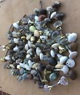 Vintage Architectural Salvage Door Knobs Lot Of 100 Glass,Brass and Steel