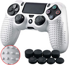 Soft Silicone Thicker Half Skin Cover For Play Station 4 SLIM PRO Contr
