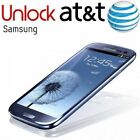 FACTORY UNLOCK CODE SERVICE FOR ATT SAMSUNG GALAXY S2S3S4S5S6S7S8  Notes