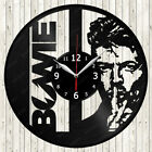 David Bowie Music Vinyl Record Wall Clock Decor Handmade 1879