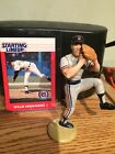 1989 Mike Henneman Figure 1988 Willie Hernandez Card Kenner Starting Lineup Lot