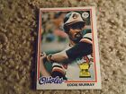 Eddie Murray Cards, Rookie Cards and Autographed Memorabilia Guide 14