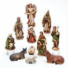 Kurt Adler 6 Resin Nativity Figures Set 11Pc