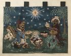 Boyds Bears Holiday Pageant Tapestry Wallhanging, New w/damaged lining