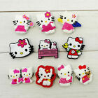 10pcs Hello K itty Cartoon Shoe Buckle Accessories Shoe Charms Kid Birthday Gift