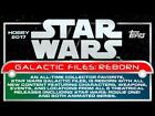 2017 Topps Star Wars Galactic Files Reborn Orange Trading Cards Pick From List