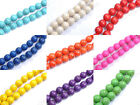 Wholesale Howlite TURQUOISE Gemstone Round Loose BEADS 6MM 8MM 10MM 12MM 14MM