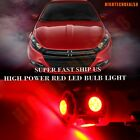 6x Xenon Red Bulb For 1990-2001 Acura Integra LED Llights Interior Package Kit