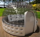 Inflatable Hot Tub Spa Solar Dome Cover Tent Structure W Pump  Anchors