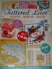 TATTERED LACE MAGAZINE 51 INCLUDES FREE DIE POPPY PLAQUE CARDS