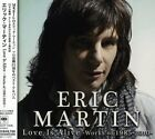 Eric Martin Love Is Alive Works of 1985-2010 Album Music CDs Japan Used F/S