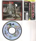 LIVING DEATH  CD (OBI) Back to the weapons + Protected from reality 1990 Aaarrg