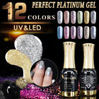 Super Color Gel Paints Crystal Lacquer Nail Glitter Pearl Diamond Gel Nail Polis