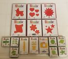 Sizzix Originals Die Lot of 16 Dies Baby Carriage Hearts Sun Scroll Daisies Star