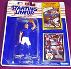 1990 Damon Berryhill Starting Lineup CUBS New In Pkg (28 yr old unit) RARE