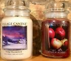 Village Candle APPLES N ACORNS + WINTER WONDERLAND BUY 1 or BOTH FREE SHIP