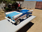 VERY RARE VINTAGE PROTOTYPE PEDAL CAR CHEVROLET BEL AIR 1950S TOY CAR