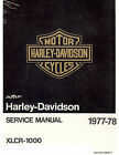 1977 to 1978 HARLEY-DAVIDSON XLCR 1000 CAFE RACER SERVICE MANUAL -NEW SEALED
