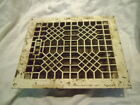 EXCELLENT ANTIQUE Floor GRILLE CAST IRON 8x10 + LOUVERS Grate HEAT REGISTER