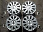 2003 2005 LINCOLN LS 16 WHEELS STOCK OEM SILVER FACTORY 5x108 FORD 3W43 1007 CA