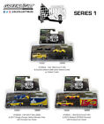 RACING HITCH  TOW SERIES 1 SET OF 3 1 64 DIECAST CARS BY GREENLIGHT 31050 A B C