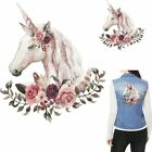 Lovely Unicorn Patches Heat Transfer Iron On Patch Clothes Stickers Washable NEW