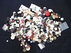 Large Lot of Vintage Assorted Buttons