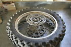 2006 KTM 400 EXC rear TIRE WHEEL RIM hub 140/80-18 #11131