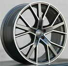 SET4 RS STYLE 20 20X9 5X112 WHEELS FIT AUDI A4 S4 A5 A7 A6 Q5 RS4 RS6 A8