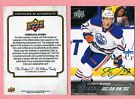 2015-16 UPPER DECK YOUNG GUNS BUYBACK AUTOGRAPH AUTO #201 CONNOR McDAVID 93 97