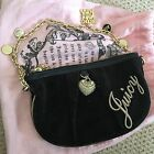 Black Juicy Couture Velour Bag BNWT