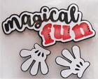 Magical Fun Title Premade Paper Piecing Embellishment Die Cut by Babs