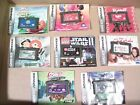 Game Boy Advance LOT 8 Gameboy Games Monkey Ball Hot Wheels Star Wars +5 GBA