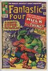 FANTASTIC FOUR 25CLASSIC HULK vs THING BATTLE COVERONE OWNER COLLECTION