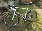 Look 565 carbon road bike large with SRAM red cassette  chainset speedplay zero
