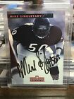 1992 Mike Singletary Pro Line On Card Certified Auto